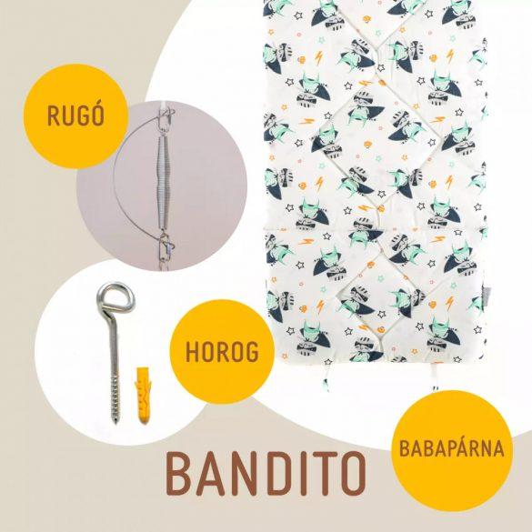 Bandito babahinta párna + rugó + horog