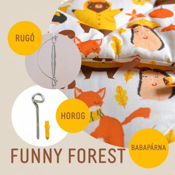 Funny Forest babahinta párna + rugó + horog