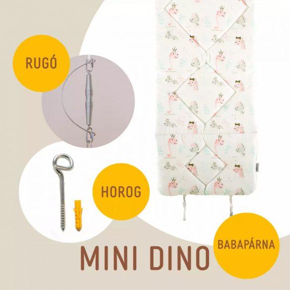 Mini Dino babahinta párna + rugó + horog
